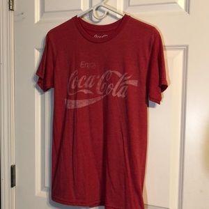 Coca Cola graphic tee Small